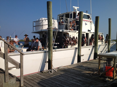 Whipsaw charter fishing wrightsville beach nc for Deep sea fishing wilmington nc